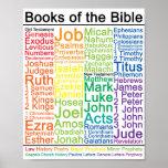 Livres de l'affiche de bible poster