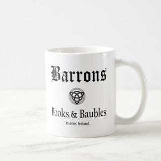 Livres et babioles de Barrons tasse de 11 onces