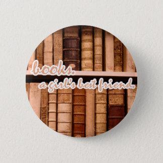 Livres - la meilleure amie d'une fille badge