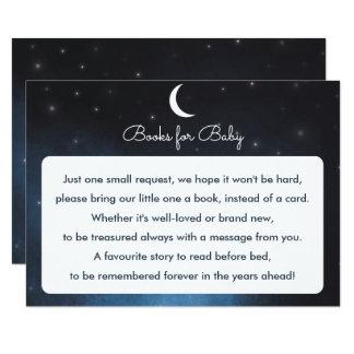 Livres pour la carte de baby shower de nuit