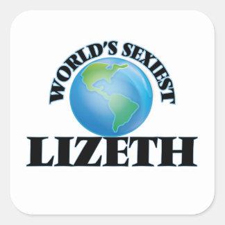 Lizeth le plus sexy du monde sticker carré