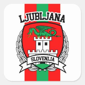 Ljubljana Sticker Carré