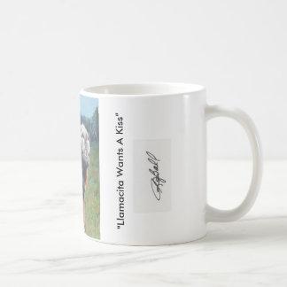 """Llamacita tasse de café veut baiser"""