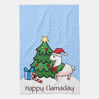 Llamadays heureux serviettes éponge