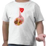 Llena de PANza, contento de corazón T-shirt