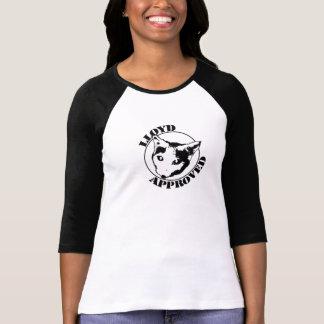 Lloyd a approuvé - 3/4 douille des femmes t-shirt