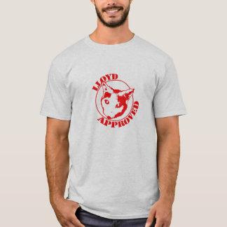 Lloyd a approuvé - les hommes gris t-shirt