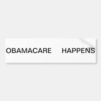 l'obamcare se produit autocollant de voiture