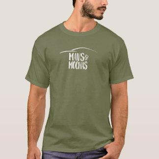 L'obscurité de Mavs et de mokas a centré le T-shirt