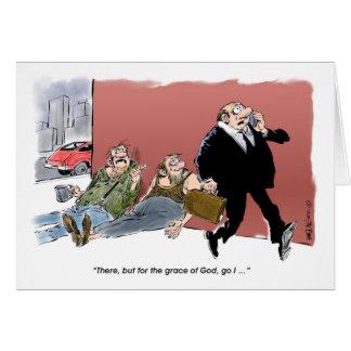 L'observation du clochard sur la carte de retraite
