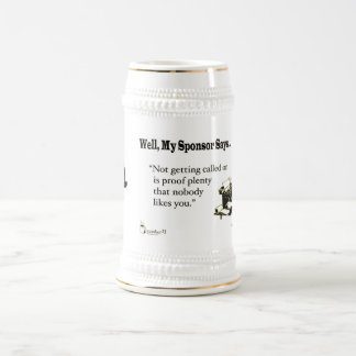 L'obtention invitée est abondance de preuve ..... chope à bière