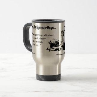 L'obtention invitée est abondance de preuve ..... mug de voyage