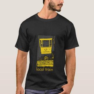 local train in yellow t-shirt