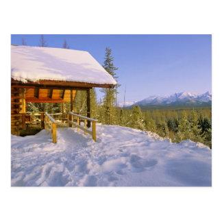Location de cabine d'USFS Schnauss en hiver Carte Postale