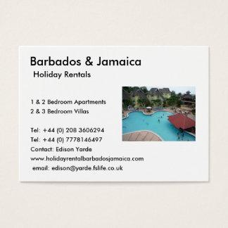 Locations de vacances cartes de visite