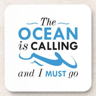 L'océan appelle sous-bock