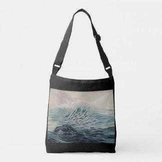 L'océan - une force de sac fourre-tout à nature