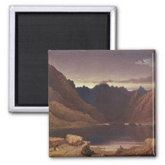 Loch Coruisk, île de Skye - aube, c.1826-32 (la se Magnet Carré