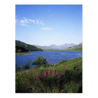 Loch écossais carte postale