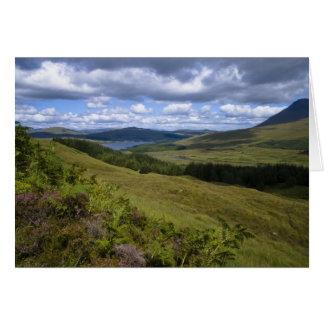 Loch Tulla • Carte de voeux