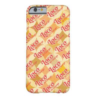 Loco à l'arrière-plan audacieux de motif de Chargo Coque iPhone 6 Barely There
