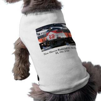 Locomotive 2026 de FL 9M de chemin de fer de New H T-shirt Pour Chien