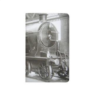 Locomotive à vapeur (Madame d'Avenal) Carnet De Poche