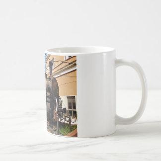 Locomotive à vapeur vintage mug