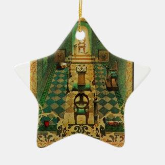 lodgeroom ornement étoile en céramique