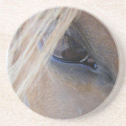L'oeil d'avril dessous de verre