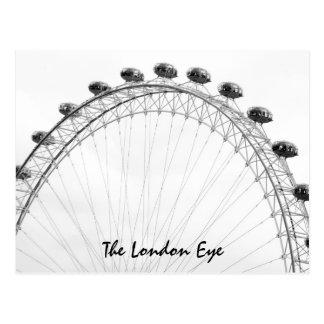 L'oeil de Londres Carte Postale
