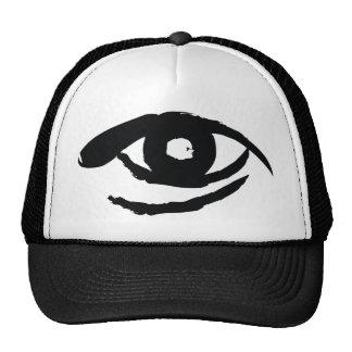 L'oeil éclairé casquette de camionneur