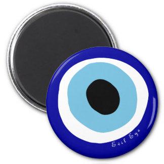 L'oeil mauvais magnet rond 8 cm