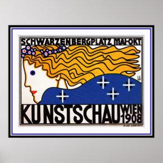 Loffler : Kunstschau Wien - secession autrichienne Posters