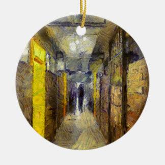 logement à caractère social de Van Gogh Hong Kong Ornement Rond En Céramique
