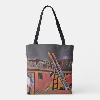 Logement artistique de Navajo du Nouveau Mexique Tote Bag