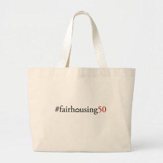 Logement juste 50 (hashtag) - sac fourre-tout