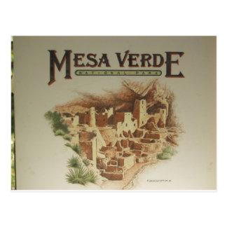 Logements de MESA Verde Anasazi Carte Postale