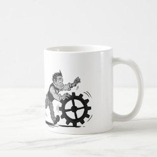 Logiciel et matériel mug blanc
