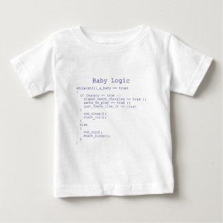 Logique de bébé t-shirt pour bébé