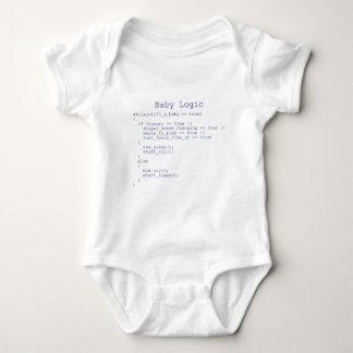 Logique de bébé t-shirts