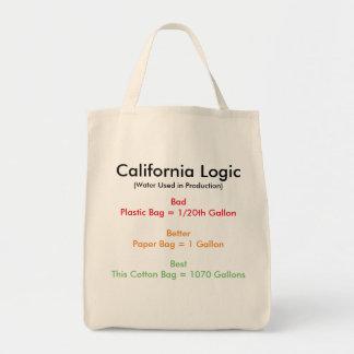 Logique de la Californie Tote Bag
