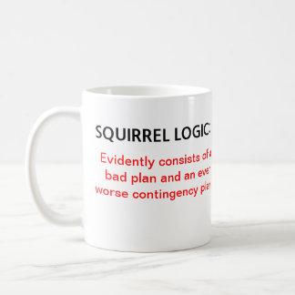 Logique d'écureuil mug