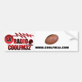 logo 18, ballon rugby4, WWW.COOLFM32.COM Autocollant Pour Voiture