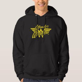 Logo 1 de femme de merveille sweatshirt à capuche