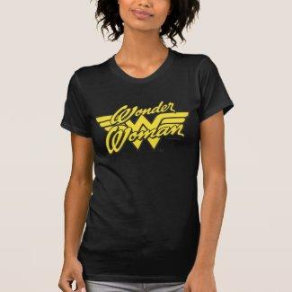 T-shirt en jersey fin pour femme, Logo Wonder Woman