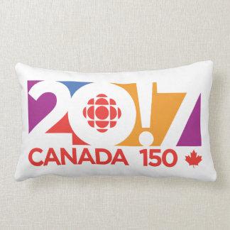 Logo 2017 de CBC/Radio-Canada Oreiller