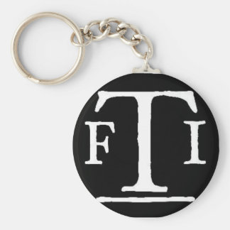 Logo 2 de FTI Porte-clé Rond