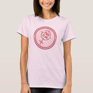 Logo 2 de rose de T-shirt de PMS