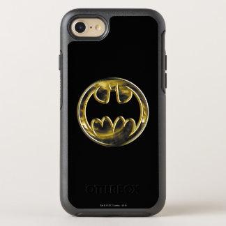 Logo 2 d'or du symbole | de Batman Coque Otterbox Symmetry Pour iPhone 7